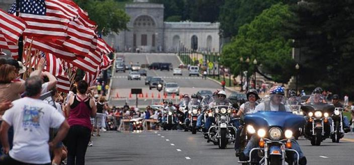 You've probably seen the Rolling Thunder Memorial Day commemoration before. And if by some miracle you haven't seen it, you've almost assuredly heard it. But do you know the history behind it? (Photo by Cristiano Del Riccio. Used via CC BY-SA 2.0 license.)