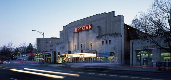 Uptown Theater, Washington, D.C. (Credit:  Highsmith, Carol M., photographer. Photographs in the Carol M. Highsmith Archive, Library of Congress, Prints and Photographs Division)