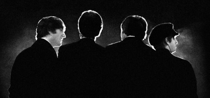 The Beatles at Washington Coliseum, Feb. 11, 1964 (Photo credit: Mike Mitchell)