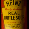 Companies like Heinz and Campbell's shipped cans of pre-prepared turtle soup and mock turtle soup across the country and globe. (Photo Source: Flickr)