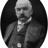 J. P. Morgan photo from Images of American Political History (Source: Wikipedia)
