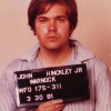 Would-be Presidential Assassin John Hinckley, Jr., in a mugshot taken after his arrest. (Photo credit: FBI)