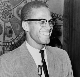 Malcolm X traveled widely in the early 1960s, but Washington was the site of two seemingly unlikely connections for him. (Photo source: Library of Congress.)