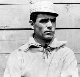 Washington Nationals manager Clark Griffith, shown here during his days with the Chicago White Sox, was in favor of playing baseball on Sundays earlier than most but would have to wait until 1918 for others to come around. (Source: Wikipedia)