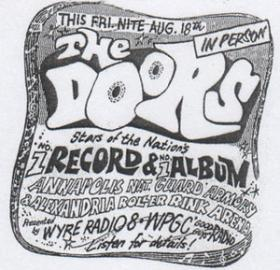 The Doors concert poster. (Photo source: Ebay)