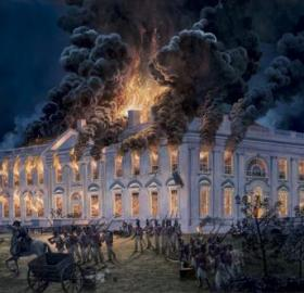 This is why we can't have nice things. (Painting by Tom Freeman. Source: The White House Historical Association.)