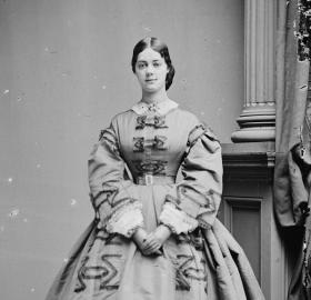 Kate Chase c. 1861 (Photo source: Wikipedia)