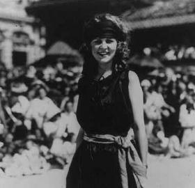 Margaret Gorman was as surprised as anyone when she was named Miss America. (Source: Wikipedia)