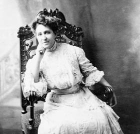 Photograph of Mary Church Terrell as a young adult.