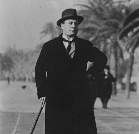 Mussolini in 1940. (Photo source: Library of Congress)