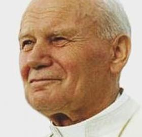 Pope John Paul II during his 1993 visit to the United States. (Source: Wikipedia)