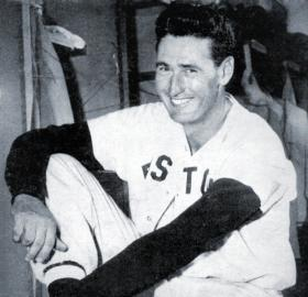 Ted Williams in 1949. (Source: Wikipedia)