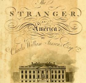The Stranger in America by Charles William Janson. (Photo source: Internet Archive)