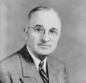 Harry Truman. (Photo source: Library of Congress)