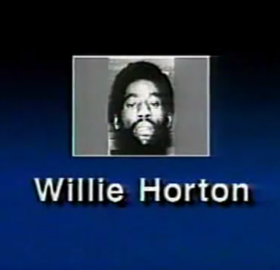 "Screenshot from the 1988 ""Willie Horton"" ad. via: Wikipedia (Fair use)"