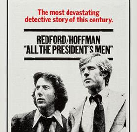 Movie poster for All The President's Men