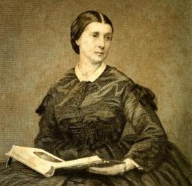 Portrait of Rose O'Neal Greenhow (Source: : Rose Greenhow, My Imprisonment and the First Year of Abolition Rule in Washington, London: Richard Bentley, 1863)