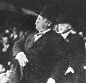 President Taft probably didn't realize he was starting a tradition when he threw out the ceremonial first pitch at the Washington Nationals' Opening Day game in 1910. (Source: George W. Bush White House)