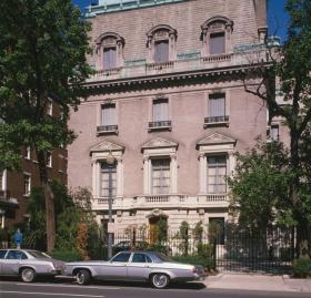 Photograph of the Soviet Embassy (Source: Library of Congress, Historic American Buildings Survey)