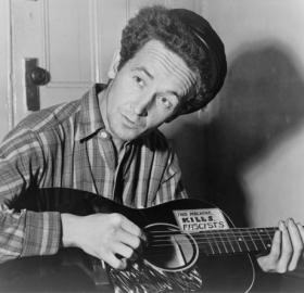 Woody Guthrie, 1943 (Library of Congress)