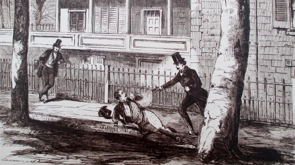 Cold-Blooded Murder in Lafayette Square: The Sickles Tragedy